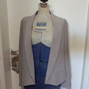 Cynthia Rowley 100% silk blazer jacket